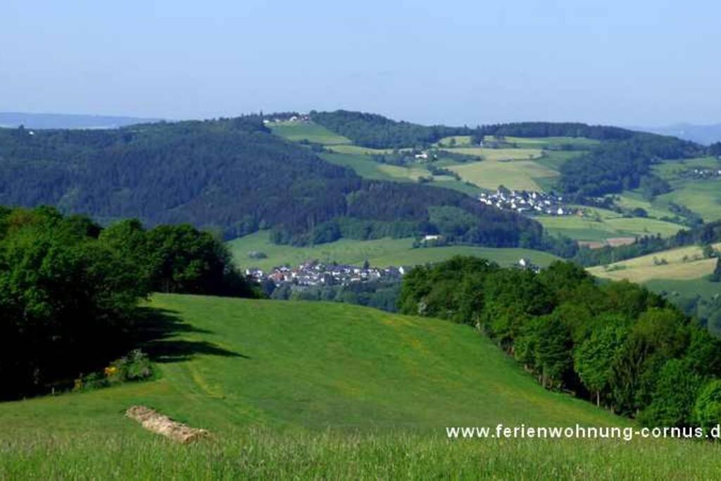 Der Blick vom Westerwald bis in die Eifel!