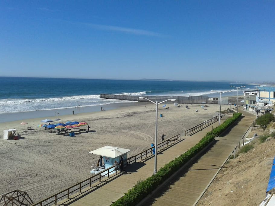 Walking distance to the Beach and Casino Caliente.