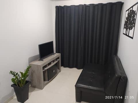 Apartamento completo em condominio (10 min centro)