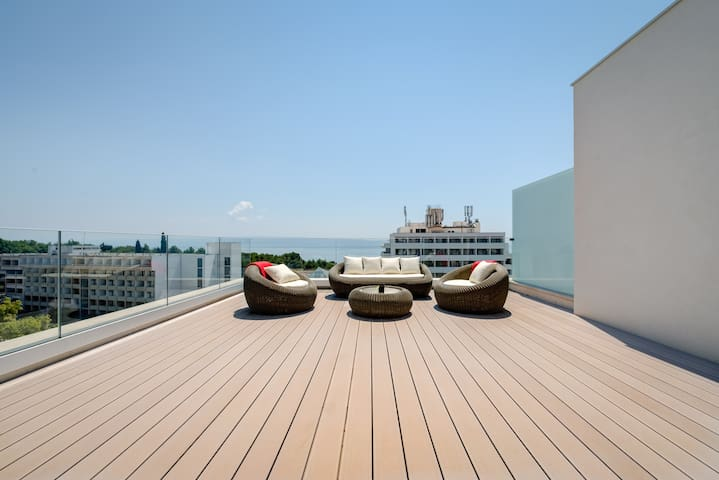 Luxury penthouse with stunning sea view - Split - Byt