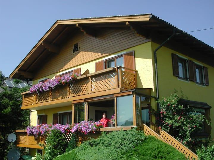 Haus Steiner - Einzelzimmer mit Balkon