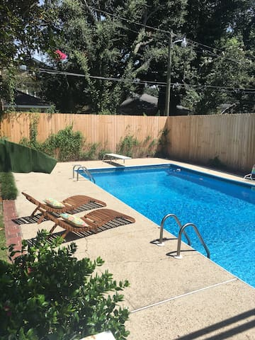 Historic Bungalow with a Private Pool!