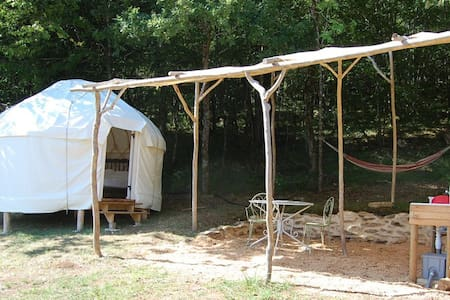 """""""Puck"""": The perfect small yurt - Couze-et-Saint-Front - Yurta"""