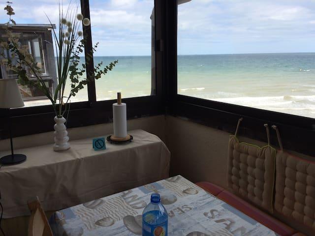 2,5 p vue mer & accès direct plage - Blonville-sur-Mer - Lägenhet