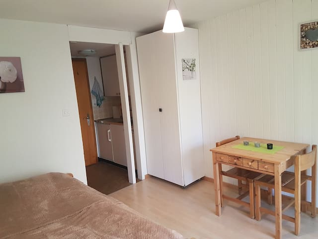 Studio au centre de Haute-Nendaz ! - Nendaz - Appartement
