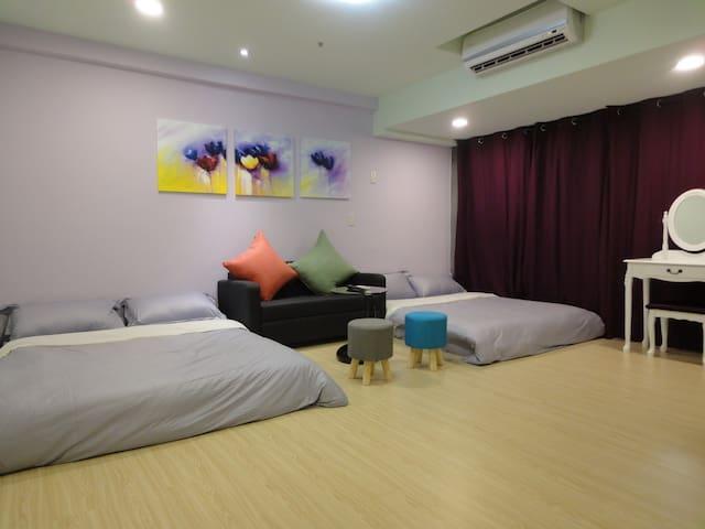 台中逢甲花園城堡(G-HOUSE)(離逢甲夜市30秒) - Xitun District - Apartment