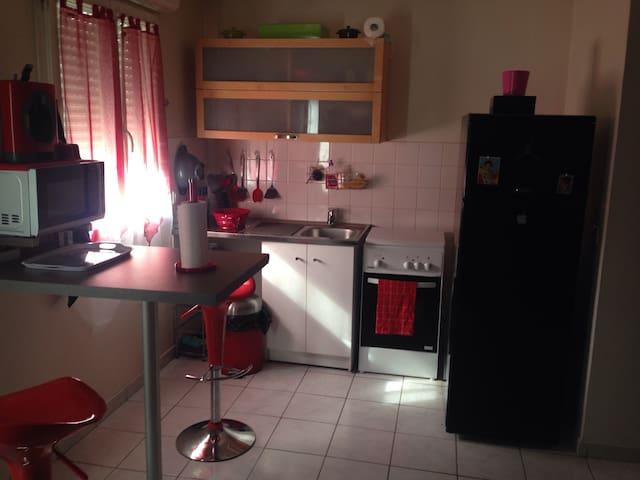Duplex 70 m2 , 2 pers près CDG - Villiers-le-Bel - Apartamento