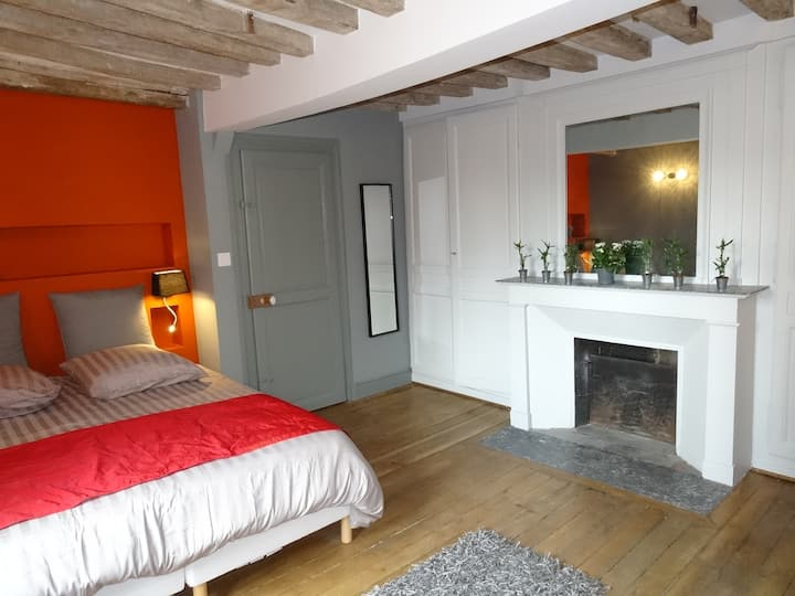 beautiful apartment in Chartres with car park