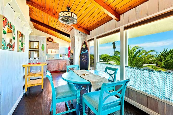 25% OFF OCT - Beach Cottage w/ Ocean Views, Walk to Water + A/C