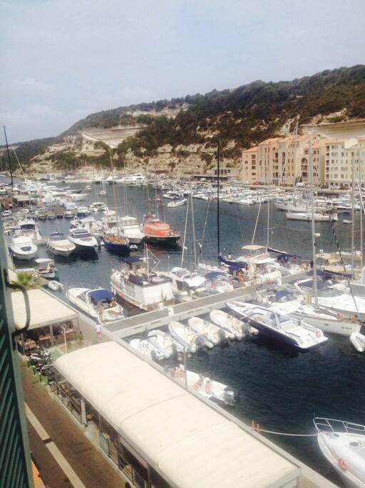 Marine et port de Bonifacio