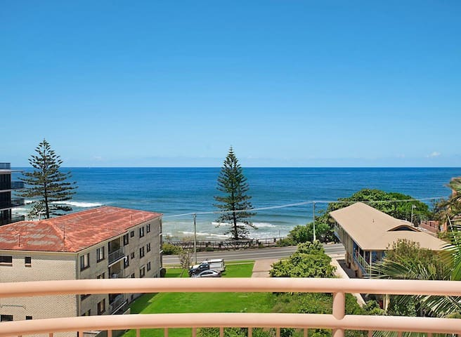 Ocean front living at Coolum Beach.