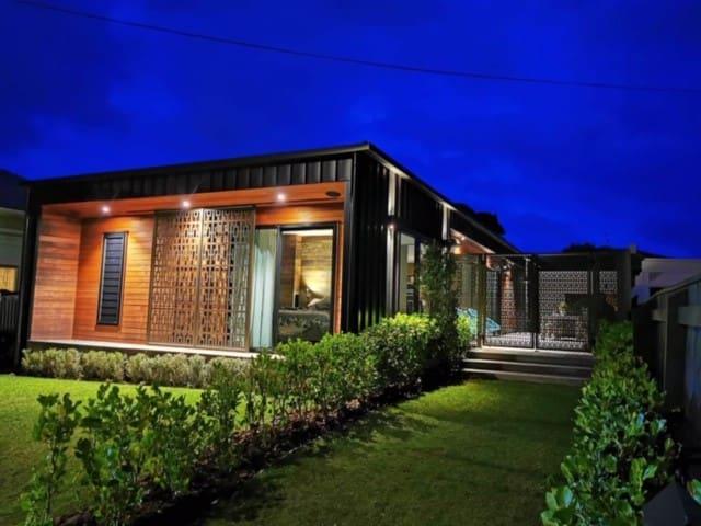 Award winning beach house at Lyall Bay