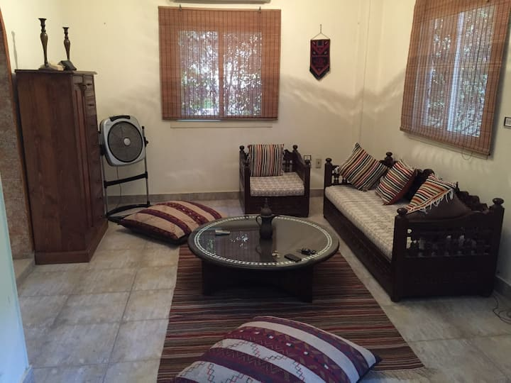 Furnished Duplex, good wifi, air-conditioned
