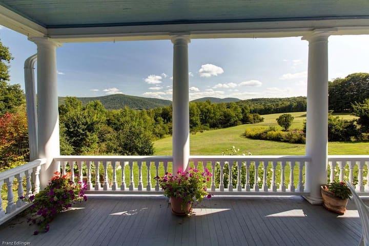 Peaceful Catskills Mtntop Estate set on 30+ Acres!