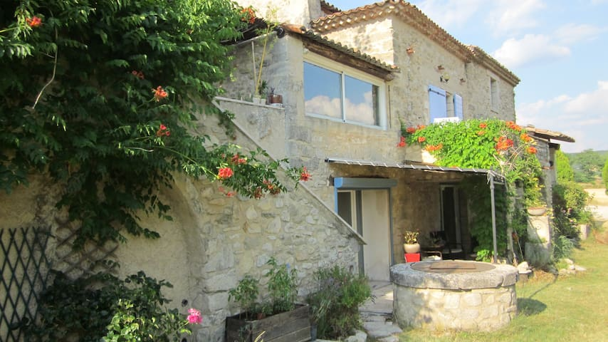 Quiet appartment with Swimming Pool in Provence - Mane - Huis