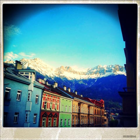 Sunny - central - mountain view - Innsbruck - Wohnung