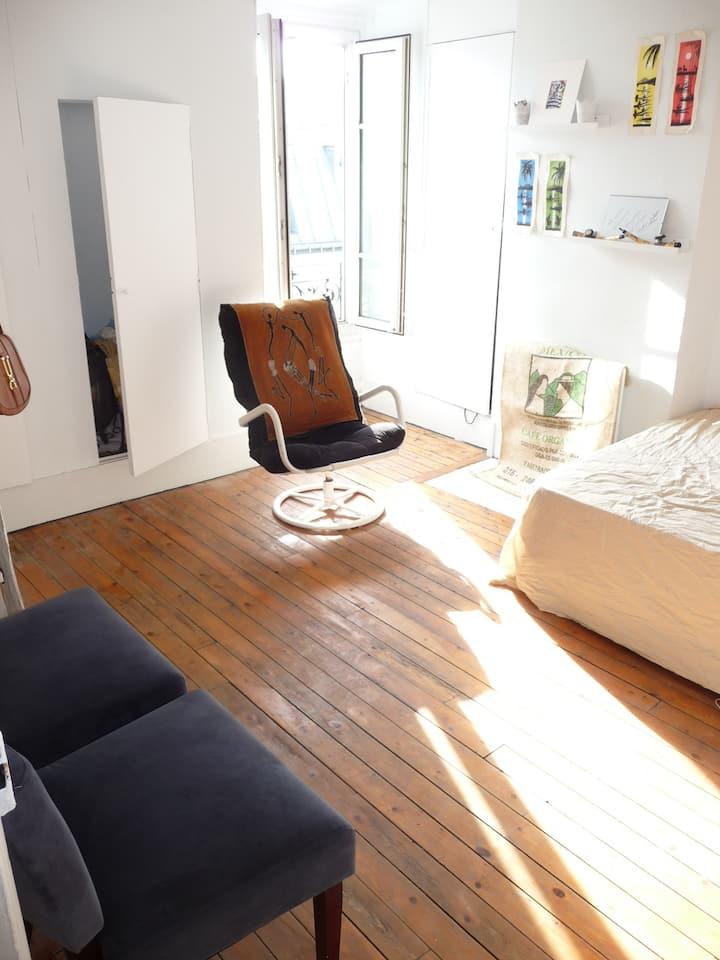 Appartement Paris centre 30m²