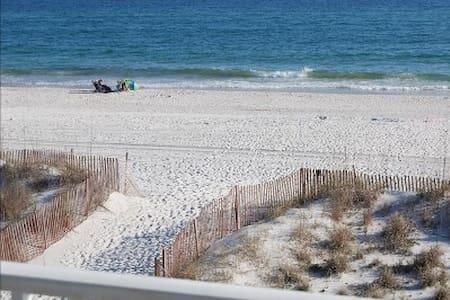 Beautiful Beachfront Condo - Gulf Shores
