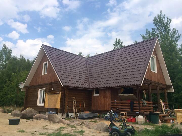 Дом на берегу залива, Усть-Луга
