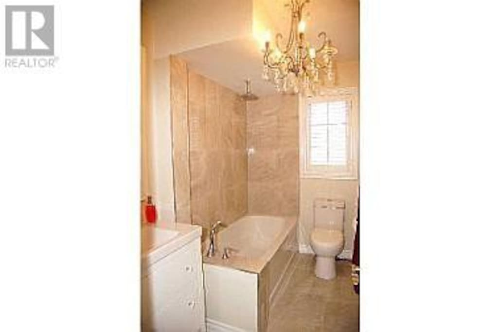 Your Bathroom (yes it really does have a chandelier)