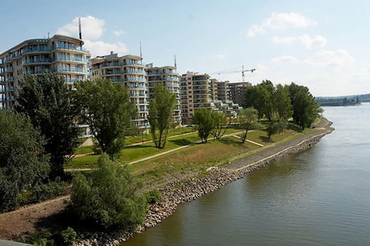 Marina Part Apartment Danube views