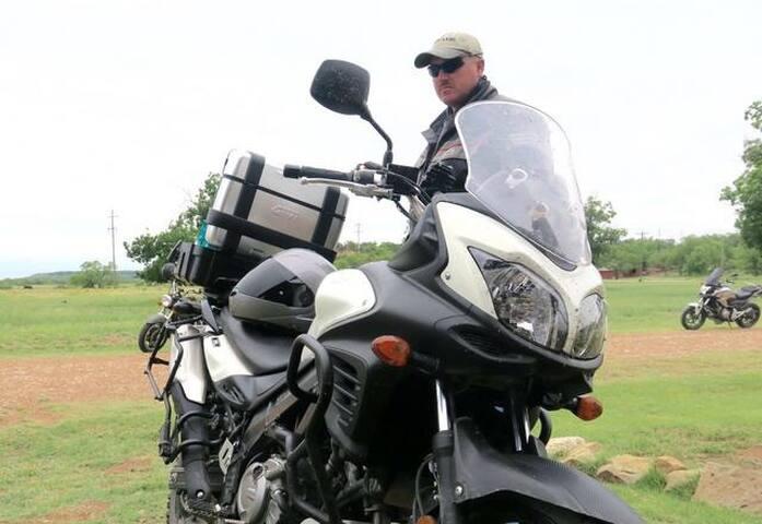 Texas Adventure Motorcycle Tours - Graham - Houten huisje