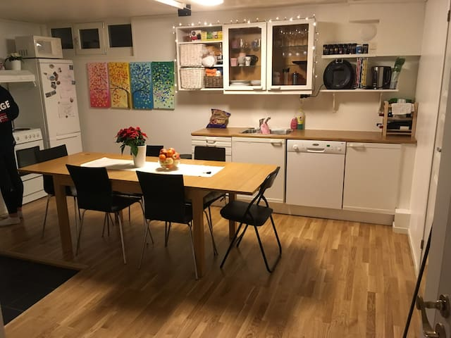 Cozy, clean and fully equipped apt close to centre - Trondheim - Apartment