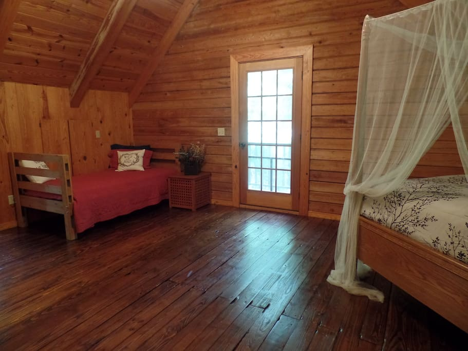 Huge Master Suite with Room for Extra Beds.