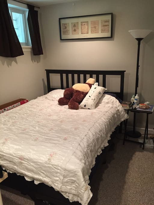 Your own furnished Bedroom