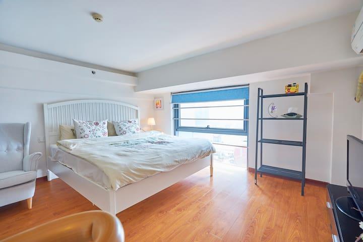 西湖边的精致loft,卫生干净适合家庭出游 - Hangzhou - Apartment