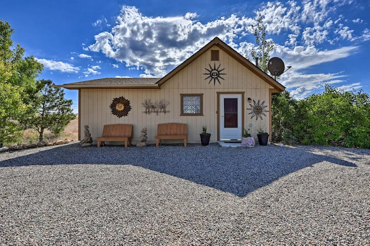 Secluded Home w/Patio + Views - 1mi to Vineyards