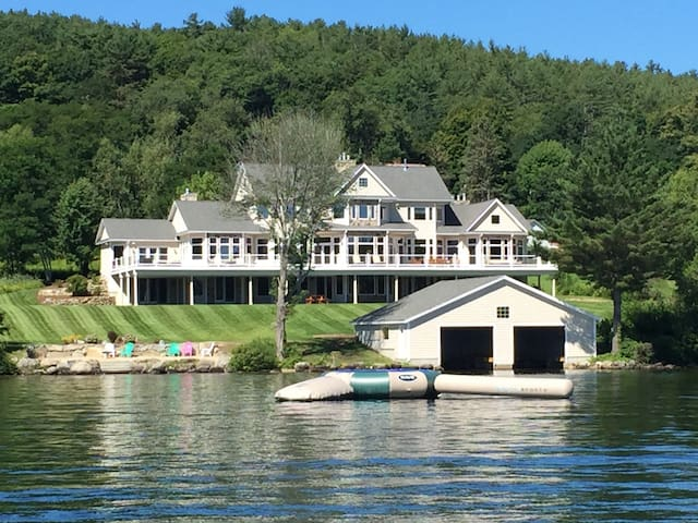 Winnipesaukee Waterfront Estate - Center Harbor - Haus