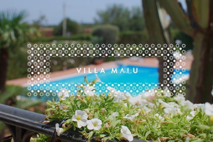 VILLA MALU • Oasis close to the sea - Fontane Bianche - Apartament