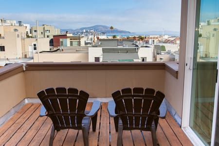 View Penthouse Master Suite & Decks - San Francisco - Apartment