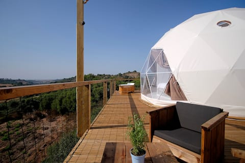 "Dome ""Comporta"" suspended in nature with sea view"