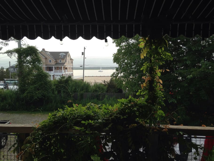 Barnegat Bay view from 1st floor deck.