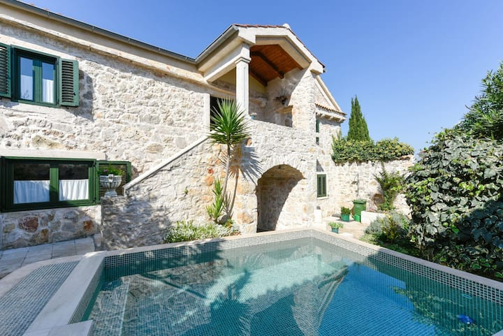 Holiday Villa with swimming pool, Blue Tree