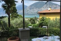 Casa del Nespolo su Lago di Iseo in Franciacorta ( Iseo, Italy)