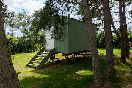 Glamping-Beautiful Shepherd's Hut - Great Ashfield