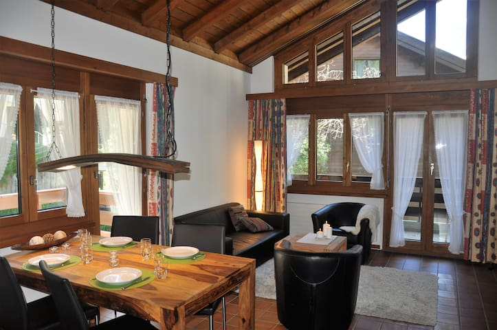 cozy3.5 room attic apartment