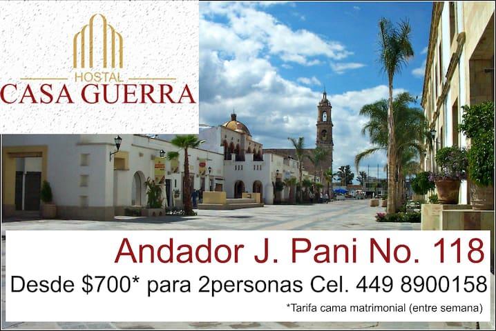 Cuartos Para la Feria J. Pani 2 per - Aguascalientes - บ้าน
