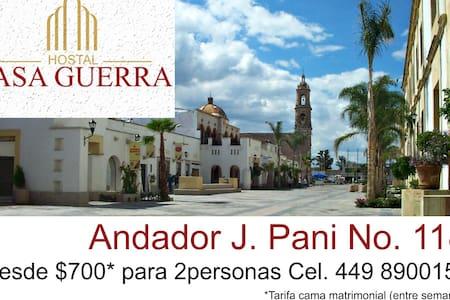 Cuartos Para la Feria J. Pani 2 per - Aguascalientes - Дом