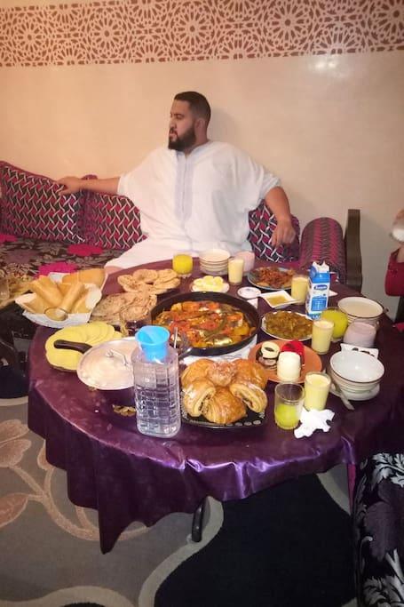 Dejeuner de Ramadan