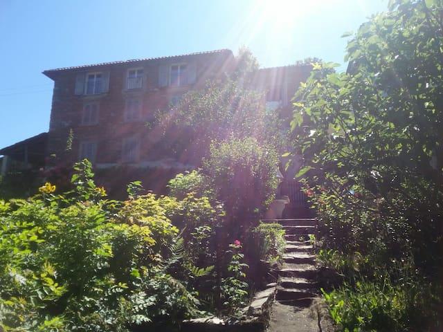 Ferienhaus mit Garten im grünen Malcantone - Alto Malcantone