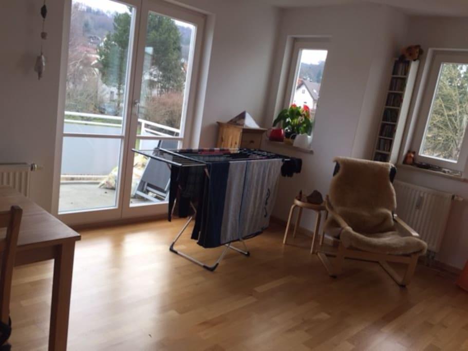 Ansicht Wohnzimmer / Gastzimmer