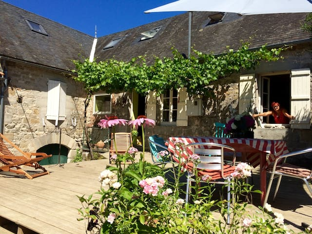 Limes Cottage B&B Chambre familiale - Saint-Julien-Maumont - Bed & Breakfast