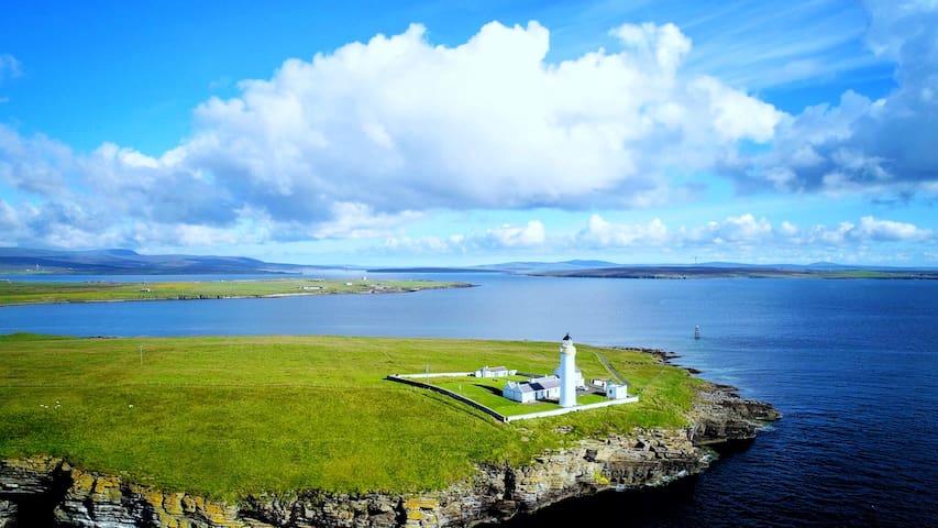 Stunning remote island location