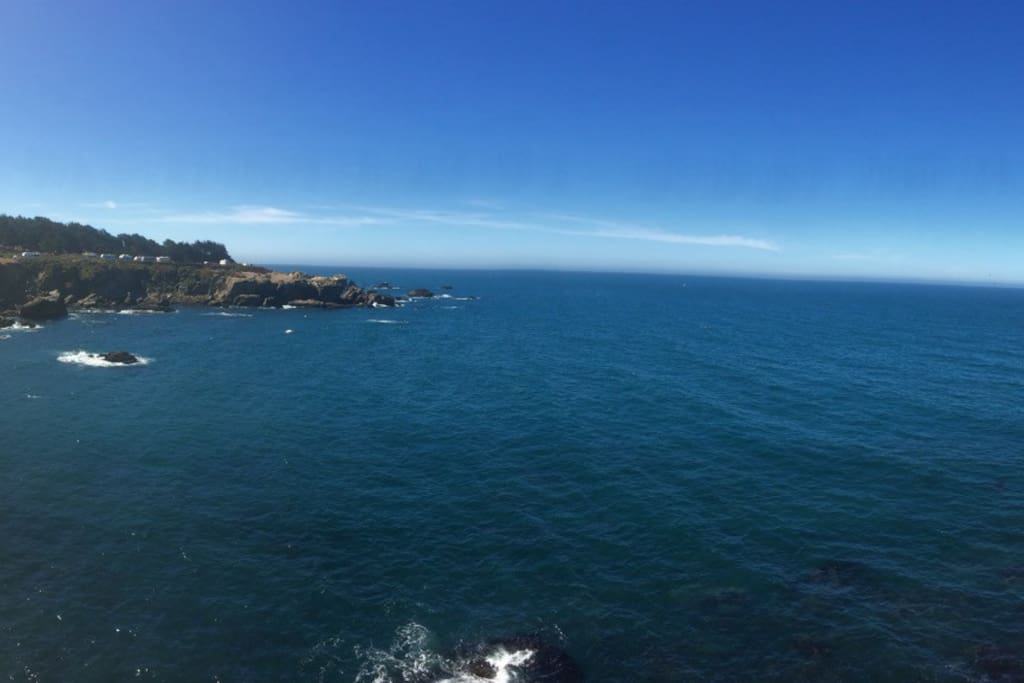Ocean Cove, north of Jenner, known for excellent abalone fishing
