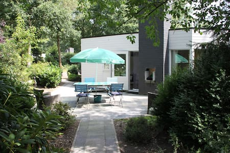 Kindvriendelijke bungalow in Erm, Drenthe. - Erm - 小木屋