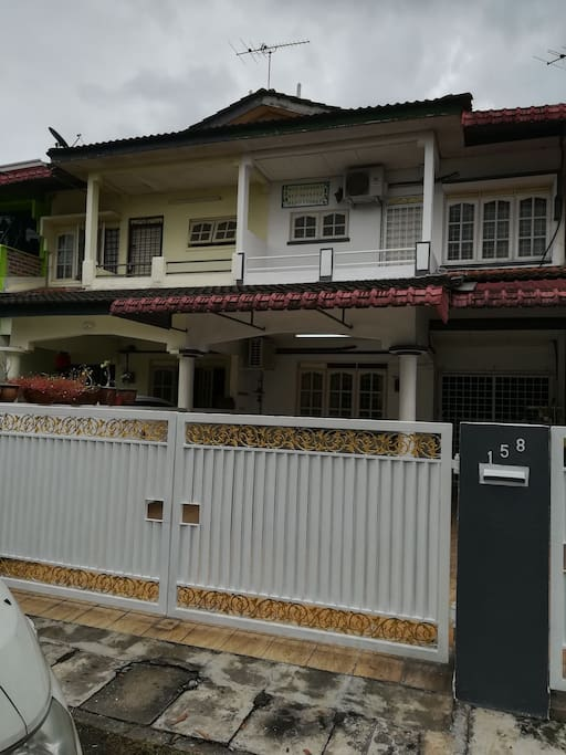 Double storey at behind main road to College.